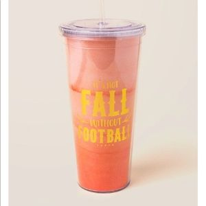 Francesca's tumbler It's not fall without football